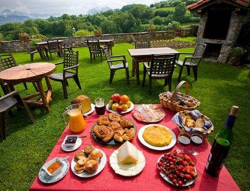 Jardín y desayuno