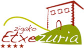 Casa rural en Baztan ZIGAKO ETXEZURIA Logo